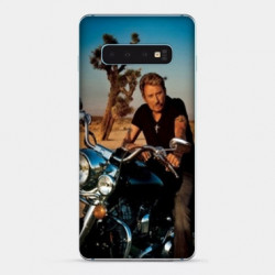Coque Samsung Galaxy S10e Johnny Hallyday Moto