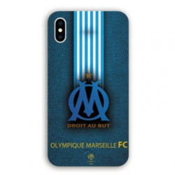 Coque Iphone XS Max Olympique Marseille OM Bande