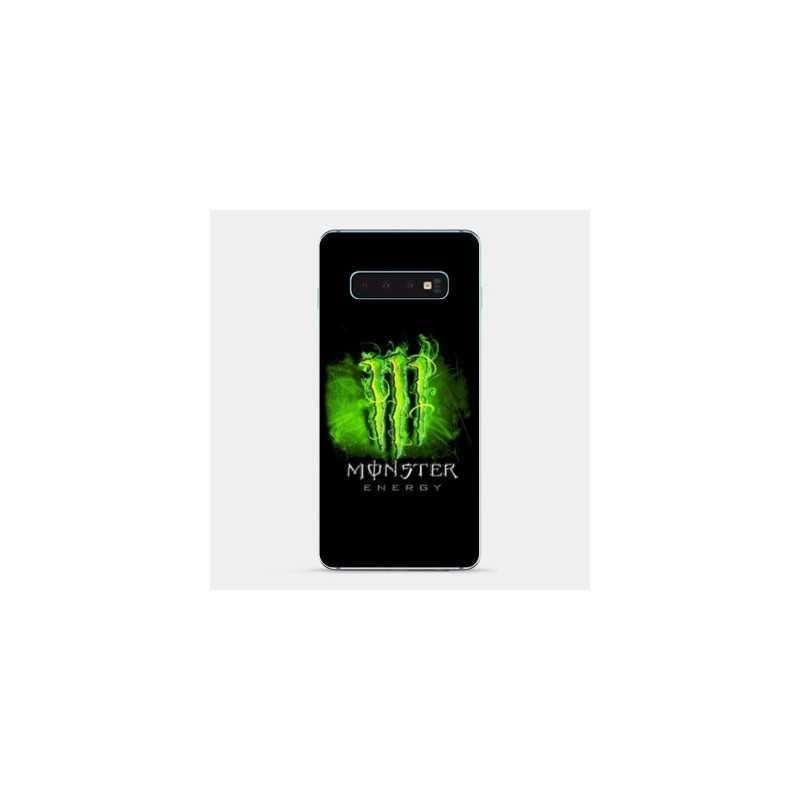 Coque pour Samsung Galaxy S10e Monster Energy Vert