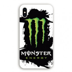 Coque Iphone XS Max Monster Energy tache