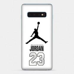 Coque Samsung Galaxy S10e Jordan 23 Blanc