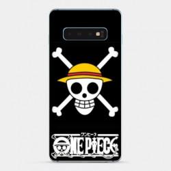 Coque Samsung Galaxy S10 Manga One Piece tete de mort