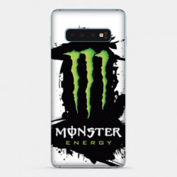 Coque Samsung Galaxy S10 Monster Energy tache