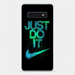 Coque Samsung Galaxy S10 Nike Just do it
