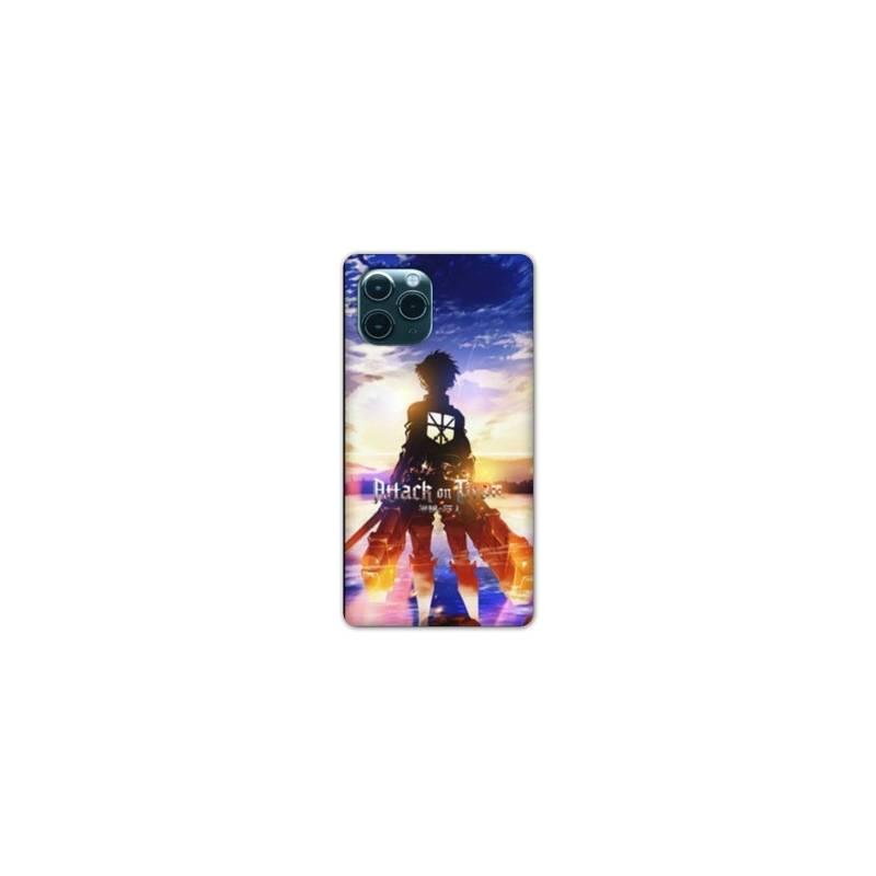 Coque Iphone 11 (6,1) Manga Attaque titans Soleil