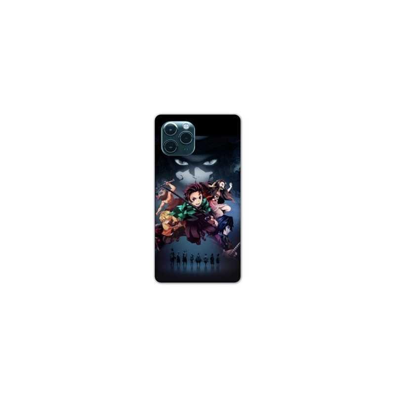 Coque Iphone 11 (6,1) Manga Demon Slayer Noir