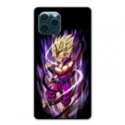 Coque Iphone 11 (6,1) Manga Dragon Ball Sangohan violet
