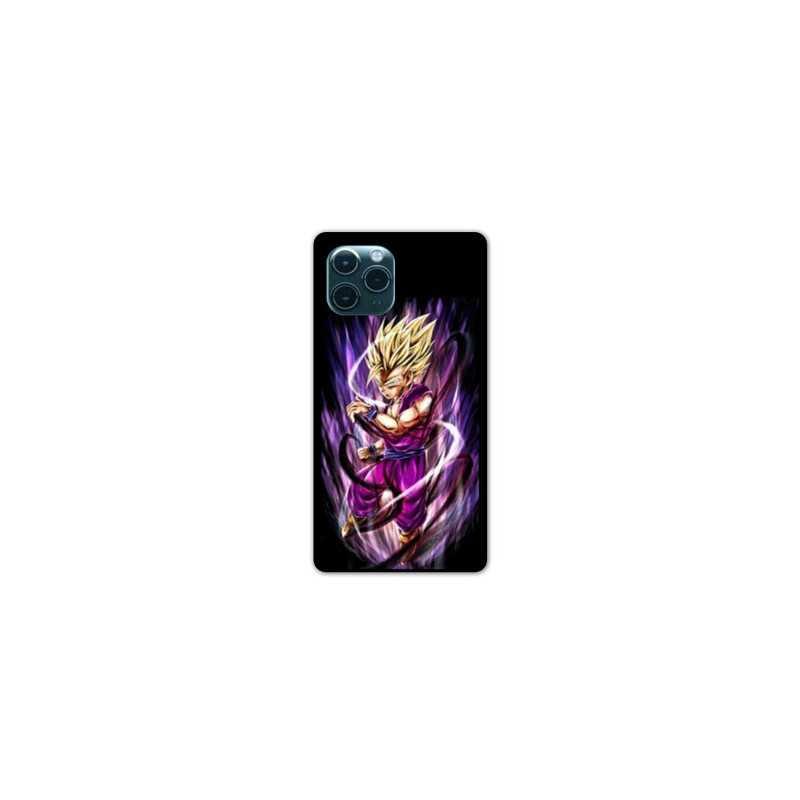 Coque Iphone 11 (6,1) Manga Dragon Ball Sangohan violet