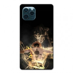 Coque Iphone 11 (6,1) Manga One Piece Ace noir
