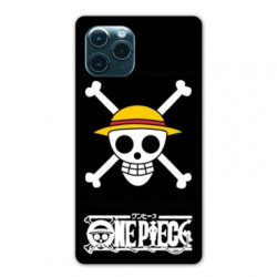Coque Iphone 11 (6,1) Manga One Piece tete de mort