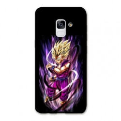 Coque Samsung Galaxy S9 Manga Dragon Ball Sangohan violet