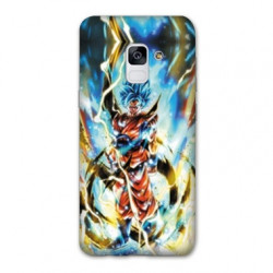 Coque Samsung Galaxy S9 Manga Dragon Ball Sangoku Blanc