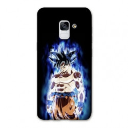 Coque Samsung Galaxy S9 Manga Dragon Ball Sangoku Noir