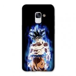 Coque Samsung Galaxy S9 Manga Dragon Ball Sangoku Noir