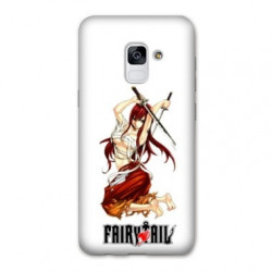 Coque Samsung Galaxy S9 Manga Fairy Tail Erza