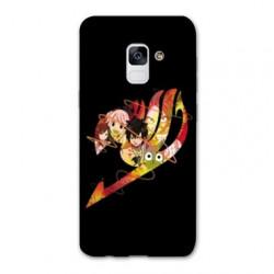 Coque Samsung Galaxy S9 Manga Fairy Tail Logo Noir