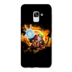 Coque Samsung Galaxy S9 Manga Naruto noir