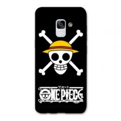 Coque Samsung Galaxy S9 Manga One Piece tete de mort