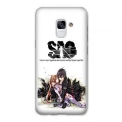 Coque Samsung Galaxy S9 Manga SAO sword Art Online blanc