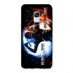 Coque Samsung Galaxy S9 Manga SAO sword Art Online Fight