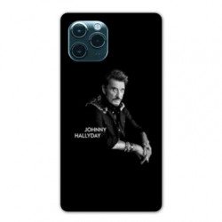 Coque Iphone 11 (6,1) Johnny Hallyday Noir