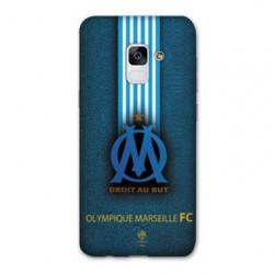 Coque Samsung Galaxy S9 Olympique Marseille OM Bande