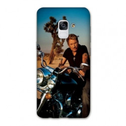 Coque Samsung Galaxy S9 Johnny Hallyday Moto