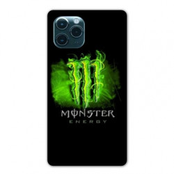 Coque Iphone 11 (6,1) Monster Energy Vert