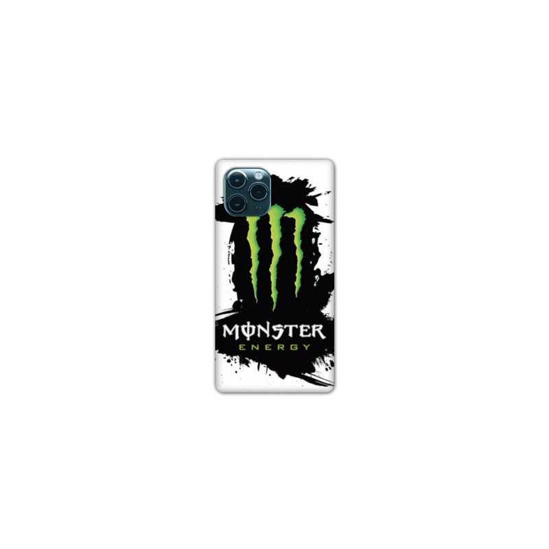 Coque Iphone 11 (6,1) Monster Energy tache