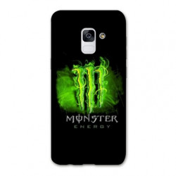 Coque Samsung Galaxy S9 Monster Energy Vert