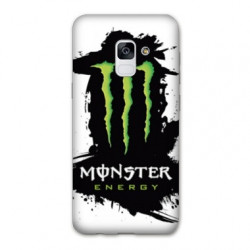 Coque Samsung Galaxy S9 Monster Energy tache
