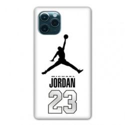 Coque Iphone 11 (6,1) Jordan 23 Blanc