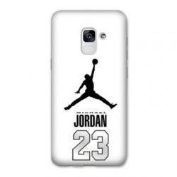 Coque Samsung Galaxy S9 Jordan 23 Blanc