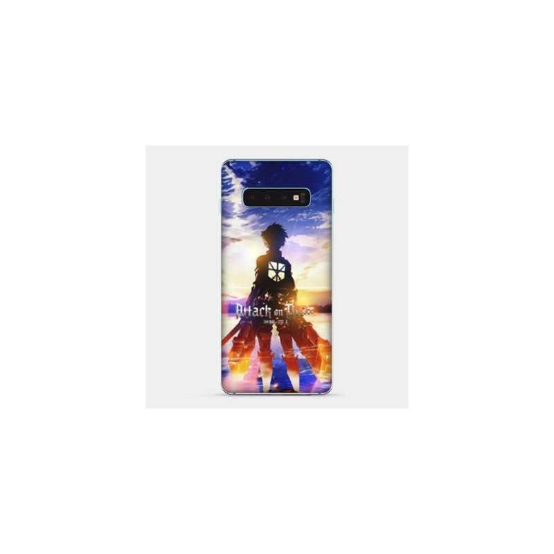 Coque Samsung Galaxy S8 Manga Attaque titans Soleil