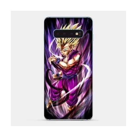 Coque Samsung Galaxy S8 Manga Dragon Ball Sangohan violet