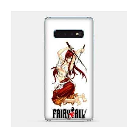 Coque Samsung Galaxy S8 Manga Fairy Tail Erza