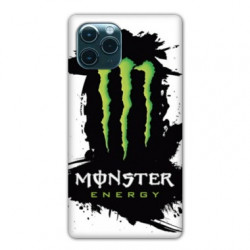 Coque Iphone 11 Pro Max (6,5) Monster Energy tache