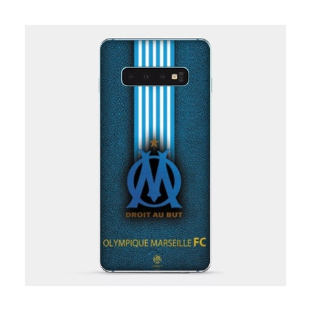 Coque Samsung Galaxy S8 OM Marseille Bleu