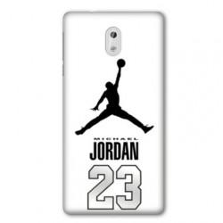 Coque Nokia 1 Plus Jordan 23 Blanc