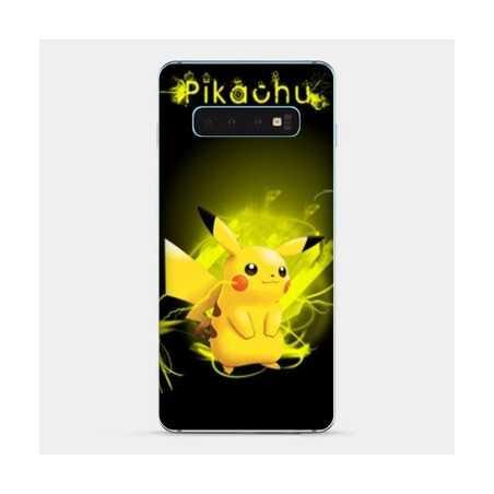 Coque Samsung Galaxy S8 Pokemon Pikachu eclair
