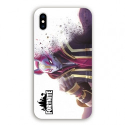 Coque Samsung Galaxy A10 Fortnite Blanc