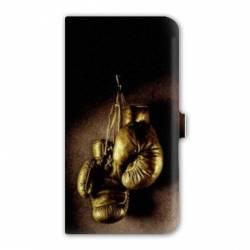 Housse cuir portefeuille Iphone 6 / 6s  Sport Combat