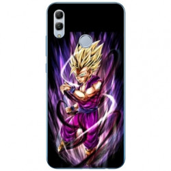 Coque Samsung Galaxy A40 Manga Dragon Ball Sangohan violet