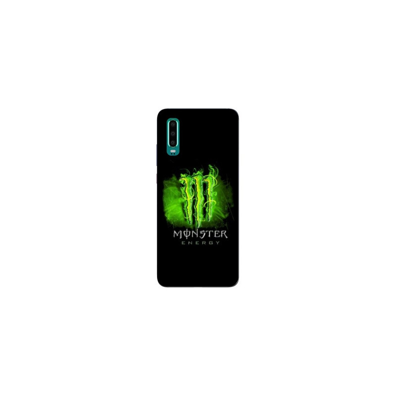 Coque pour Samsung Galaxy A50 Monster Energy Vert