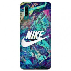 Coque pour Samsung Galaxy A50 Nike Turquoise