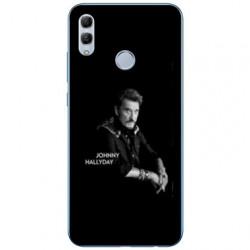 Coque Samsung Galaxy A40 Johnny Hallyday Noir
