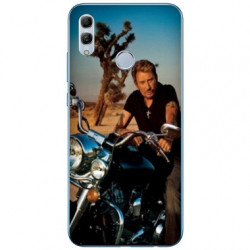 Coque Samsung Galaxy A40 Johnny Hallyday Moto