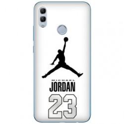 Coque Samsung Galaxy A40 Jordan 23 Blanc