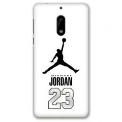 Coque Nokia 4.2 Jordan 23 Blanc