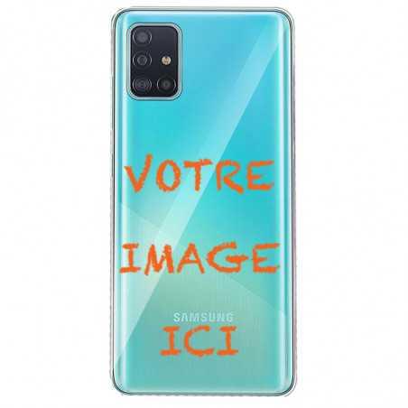 Coque transparente pour Samsung Galaxy S20 personnalisée